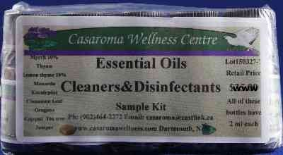 Essential Oil Sample Kit - Household