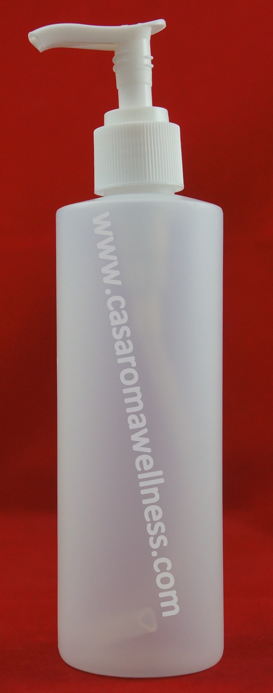 HDPE Bottle (plastic) with lotion pump