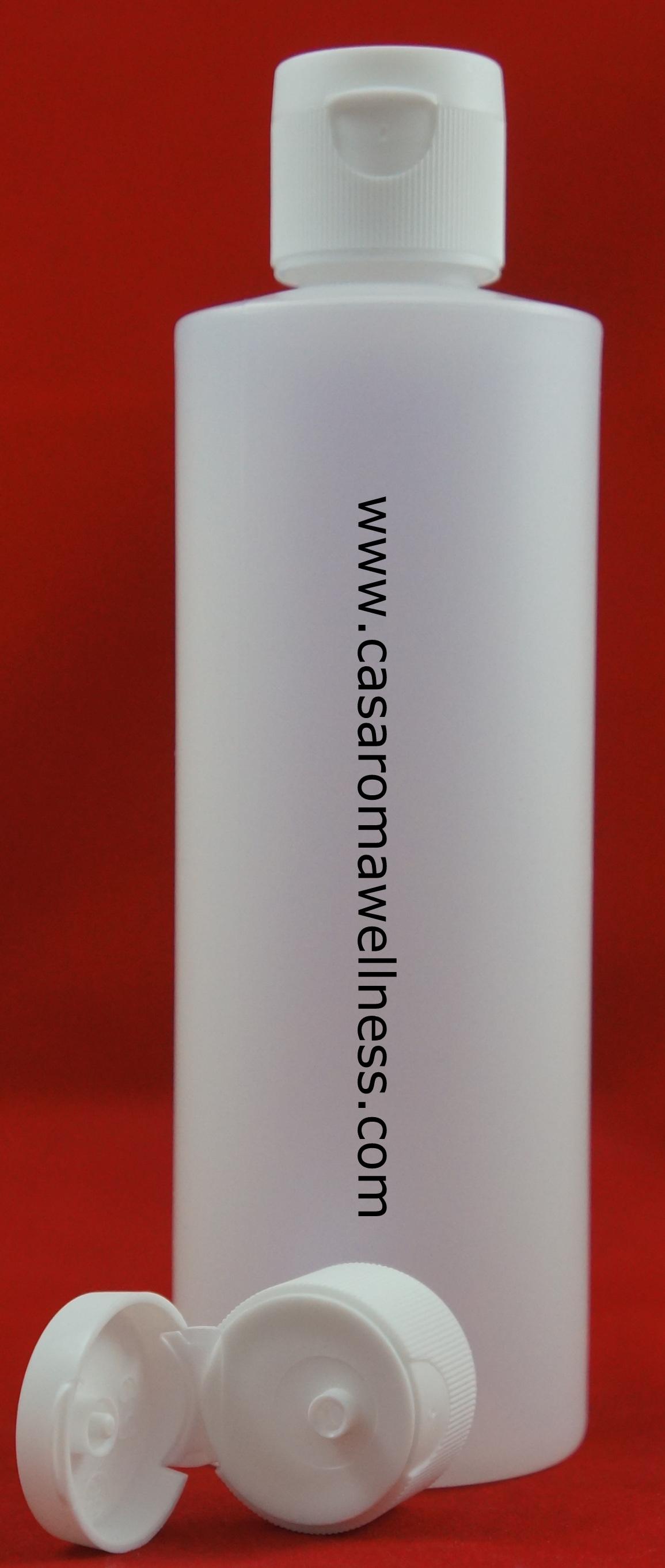 HDPE Bottle (plastic) with flip cap