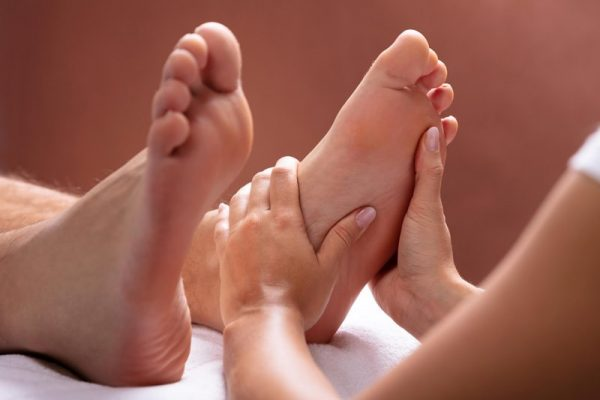 Reflexology Treatment 1